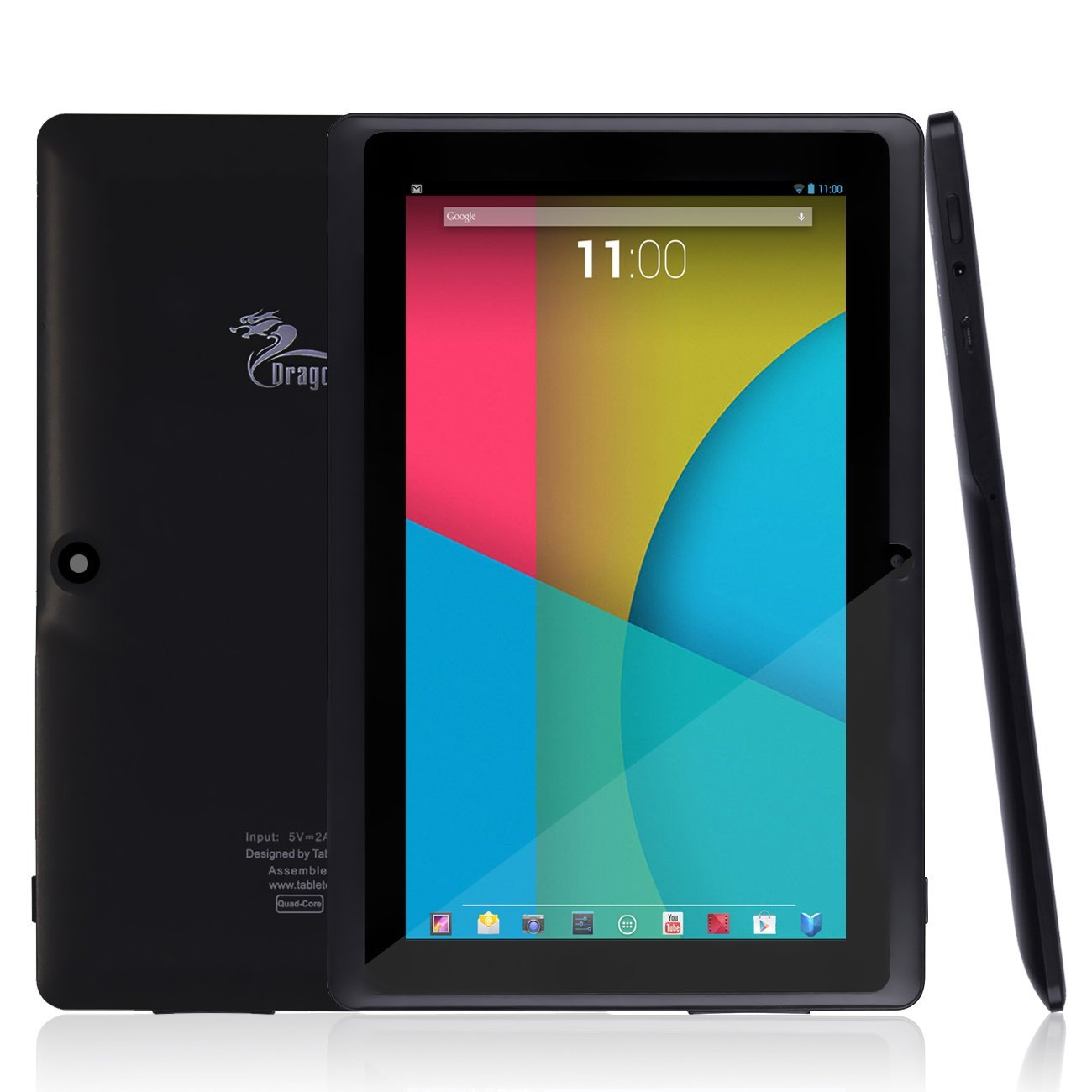 Dragon touch quad core tablet best tablets under 100 for Table th 100